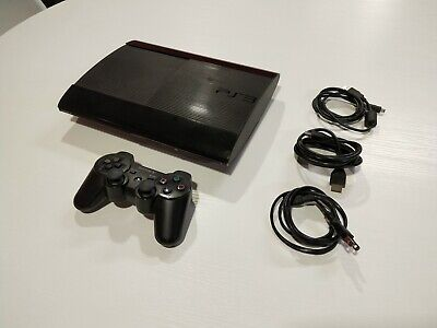 Sony Playstation 3 Super Slim 500GB Black Console