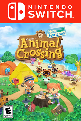 Nintendo Switch Animal Crossing: New Horizons for Switch (Read Description)