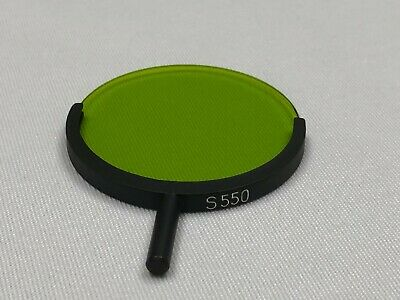 Leica Leitz Microscope 50 MM Green S550 Filter w/Handle cat# 514-487