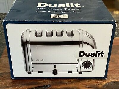 Dualit 4 Slice 47450 Stainless Steel Toaster - Polished