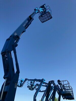 Look! Genie Z30/20N Articulated Boom Lift Aerial Manlift Platform