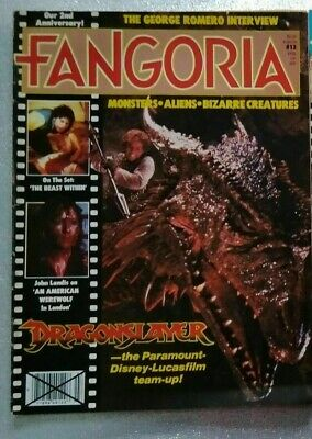 fangoria issue no 13 rare an american werewolf in london the beast within disney