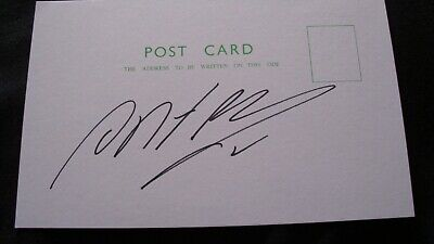 Antonio Valencia - Manchester United - Wigan -  Signed / Autographed Card