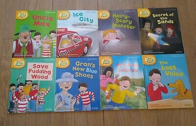 Oxford reading Tree Stage 6 Biff Chip & Kipper Stories 8 Books