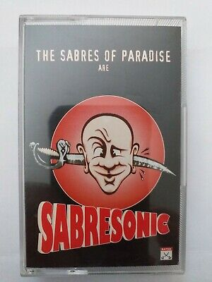 The Sabres of Paradise are Sabresonic UK 1993 Warp Records Audio Cassette