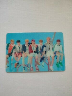 BTS Special Lenticular Photocard Love Yourself Answer Official