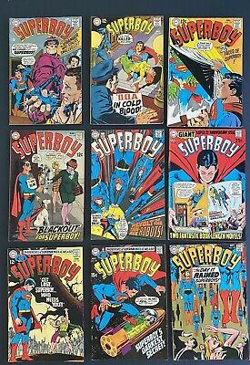 Superboy Silver Age Lot: 150-152, 154-175 with nice Giant Size 156, 165, 174