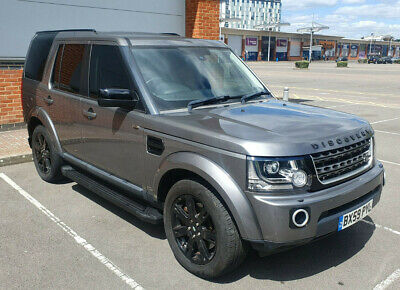 Stunning Land Rover Discovery 4 XS 3.0L TDV6 Grey 7 Seater Facelifted 2016