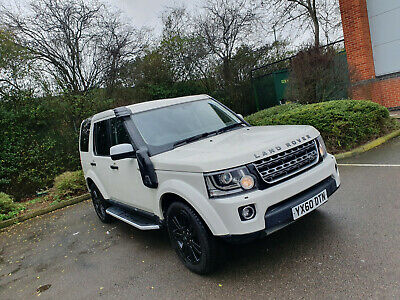 Land Rover Discovery 4 3.0L TDV6 White Fully Serviced 7 Seater 2010 W/ Snorkel