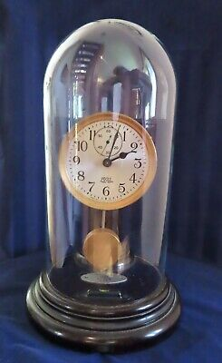 """Rare Poole Antique Clock  """"Executive"""" Battery Drive in running condition!"""