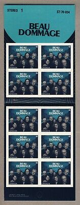 "Canada Postage Scott #2658 BOOKLET PANE OF 10 ""P"" STAMPS BEAU DOMMAGE"