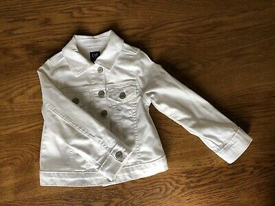 girls gap denim jacket White 3 Years