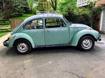 1973 Volkswagen Beetle - Classic  1973 VW Sports Bug, Super Beetle, Limited Edition, Rare California Car now green