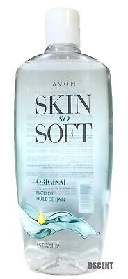 Avon Skin So Soft Original  Bath Oil 25 fl. oz.