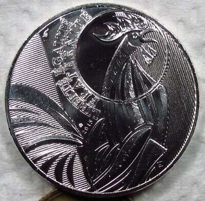 France 2015 10 Euro Silver Rooster