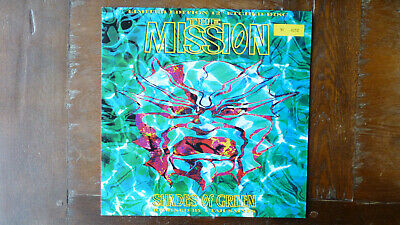 """THE MISSION. Shades Of Green. Original Unplayed 12"""" Etched Vinyl. Ltd Ed."""