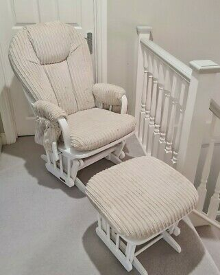 Dutailier Rocking Chair With matching Rocking Stool
