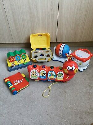 Vintage Toys Bundle 2000-2003 Leap Frog Fisher Price Vtech Little Tikes x6 items