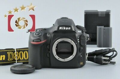 Near Mint!! Nikon D800 36.3 MP Full Frame Digital SLR Camera
