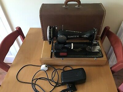Vintage Singer 15K80 Electric with lamp sewing machine FOR LEATHER etc