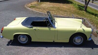 1966 AUSTIN HEALEY SPRITE - twin of mg midget swap px cash either way