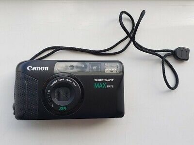 Canon Sure Shot Max Date W/ 38mm 1:3.5 Lens 35mm Film Camera with soft case