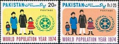 Pakistan Stamps 1974 World Population Year MNH