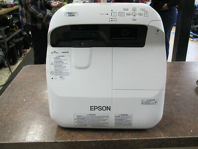 Epson PowerLite 595Wi Home Theater Projector - 652 Lamp Hours