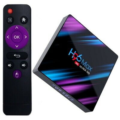 2020 H96 MAX Quad Core 4GB+64GB TV Box Android 9.0 4K HD Media Player 5Ghz WIFI