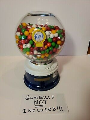 Vintage Ford Gumball Machine Glass Globe - Gumballs Not Included