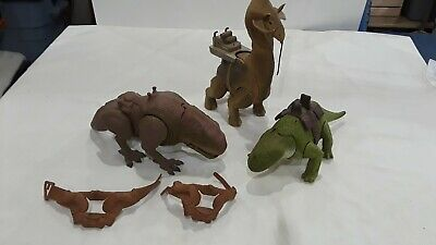 Star Wars Creatures And Extra Saddles.  Vintage