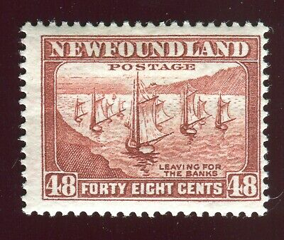 Newfoundland SG 228c 48c red-brown 1938 MM