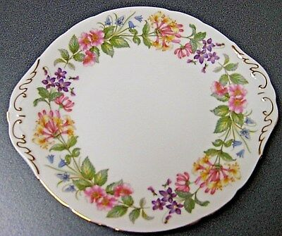 Paragon Country Lane Bread & Butter cake plate. English Bone China Afternoon Tea