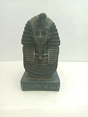 RARE ANCIENT EGYPTIAN ANTIQUE KING TUT Head Statue Tutankhamun 1342-1325 BC