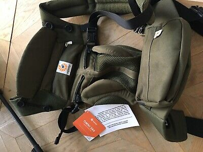 Ergo 360 Baby Carrier Omni Cool Air Mesh in Khaki Green Used Once