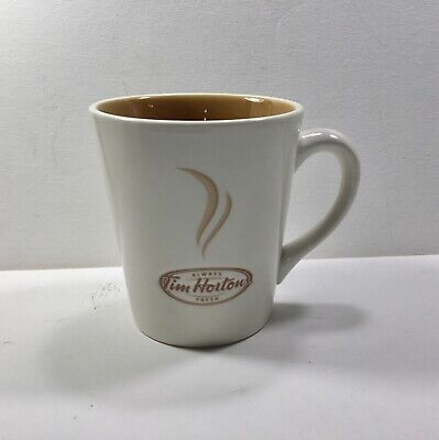 Tim Hortons 2006 Limited Edition Coffee Mugs Cup Always Fresh-White/Gold #006