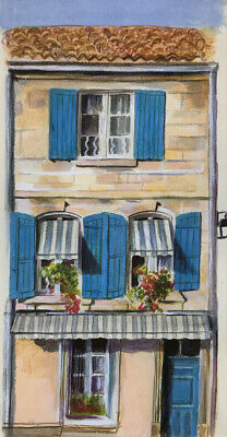 Painting Of A House In Arles, Provence, South Of France (print)