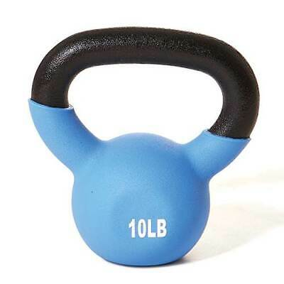 Kettlebell 10 lbs Weights Lifting Workout Gym Fitness Vinyl Coated Gym Quality