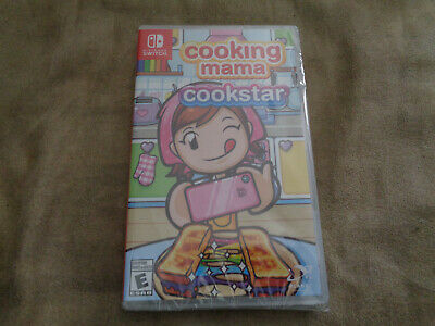 Cooking Mama: Cookstar (Switch, 2020) NEW Sealed