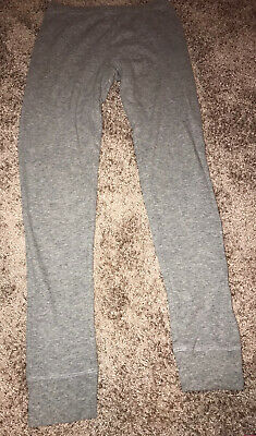 Victorias Secret PINK Gray Thermal Pants Womens Size Small!