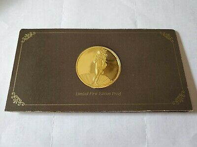 24kt GP/SSilver Franklin Mint 100 Greatest Masterpieces The Birth of Venus #5