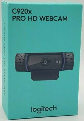 Logitech C920x Pro HD Webcam 1080p Video Calling & Recording IN HAND SHIPS FAST!