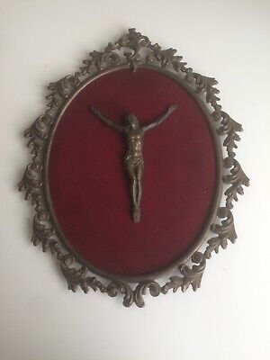 Crucifixion of Christ Crucifix Hanging Wall Plaque Cross Jesus Christ Religious