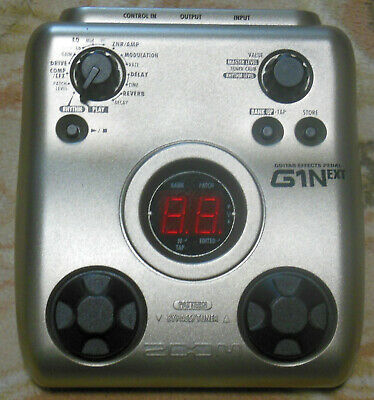 Zoom G1Next Guitar multi effects pedal  rythm box from Japan