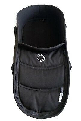 Bugaboo bee 3 /bee 5 carrycot  including base, fabric set, and adaptors