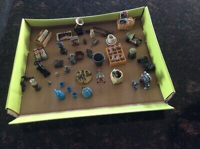 Assorted lot of Approx. 30 mixed miniature antique items.