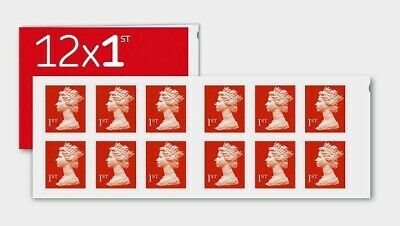50 x 1st Class Standard Self Adhesive Postage Stamps