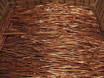 54 Lbs Scrap Bare Bright Copper Wire #1 Metal Craft Cast Melt Material Ingot