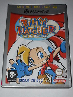 Jeu vidéo Game Cube Nintendo Gamecube Billy Hatcher and the Giant Egg