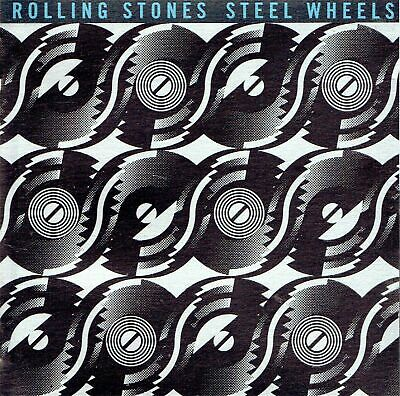 CD THE ROLLING STONES  /  STEEL WHEELS  (album 1989)